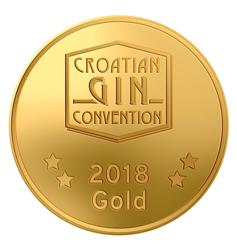 Zlatna medalja za Hrvatski Gin 2018 godine