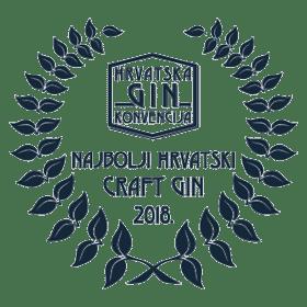 Medalja za najbolji Hrvatski craft gin 2018