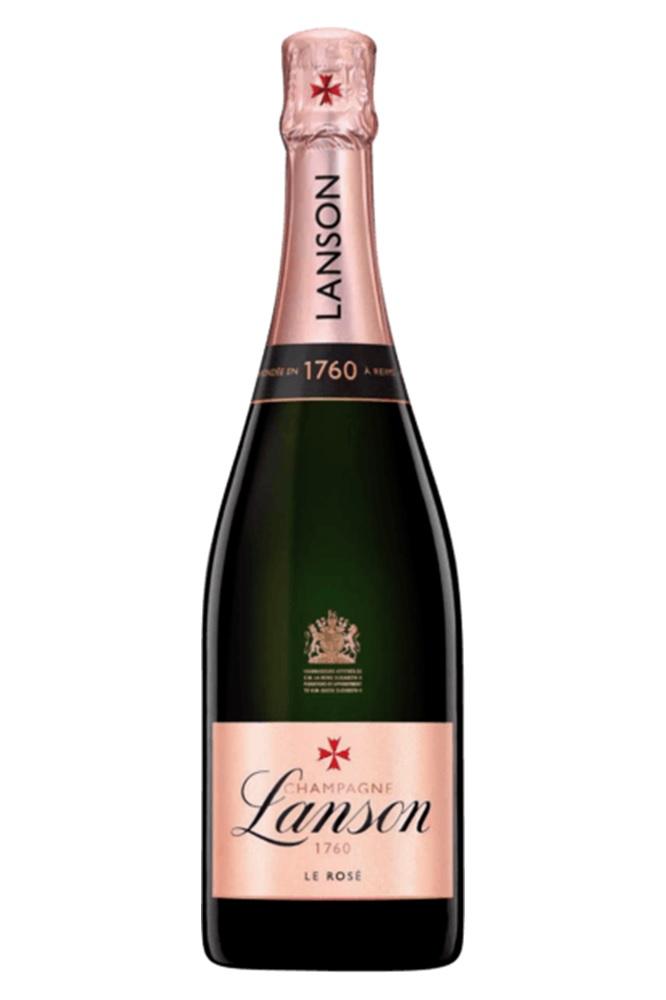 boca šampanjca lanson le rose